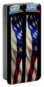 The Fourth At The Speedway Portable Battery Charger