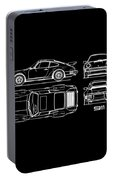 The 911 Turbo Blueprint Portable Battery Charger