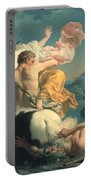 The Abduction Of Deianeira By The Centaur Nessus Portable Battery Charger