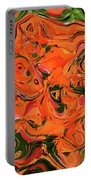 The Abstract Days Of Autumn Portable Battery Charger