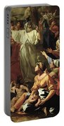 The Adoration Of The Golden Calf Portable Battery Charger