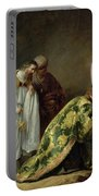 The Adoration Of The Magi Portable Battery Charger by Pieter Fransz de Grebber