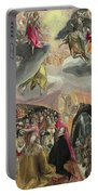 The Adoration Of The Name Of Jesus Portable Battery Charger