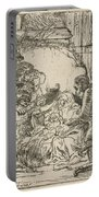 The Adoration Of The Shepherds: With The Lamp Portable Battery Charger