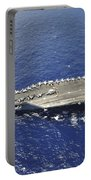 The Aircraft Carrier Uss Nimitz Portable Battery Charger