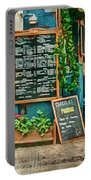The Albar Coffee Shop In Alvor. Portable Battery Charger