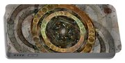 The Almagest - Homage To Ptolemy - Fractal Art Portable Battery Charger
