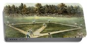 The American National Game Of Baseball Grand Match At Elysian Fields Portable Battery Charger