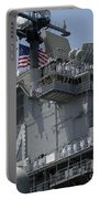 The Amphibious Assault Ship Uss Boxer Portable Battery Charger by Stocktrek Images