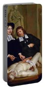 The Anatomical Lesson Of Professor Frederik Ruysc Portable Battery Charger
