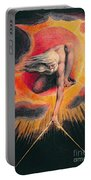 The Ancient Of Days Portable Battery Charger by William Blake
