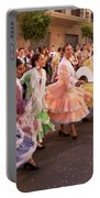 The Andalusian Fair, A Party In The Streets Portable Battery Charger