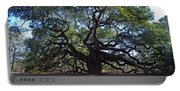 The Angel Oak In Spring Portable Battery Charger