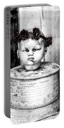 The Antique Doll's Head Portable Battery Charger