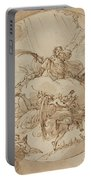 The Apotheosis Of San Vitale Portable Battery Charger