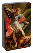 The Archangel Michael Defeating Satan Portable Battery Charger