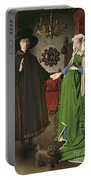 The Arnolfini Marriage Portable Battery Charger