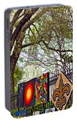 The Art Of Jackson Square Portable Battery Charger