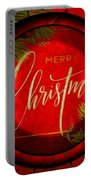 The Art Of Vhristmas Cheer Portable Battery Charger