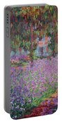 The Artists Garden At Giverny Portable Battery Charger