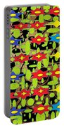 The Arts Of Textile Designs #42 Portable Battery Charger