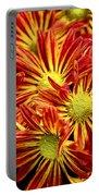 Chrysanthemum Bouquet Portable Battery Charger