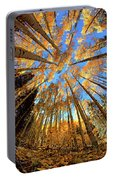 The Aspens Above - Colorful Colorado - Fall Portable Battery Charger