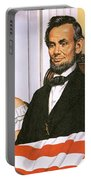 The Assassination Of Abraham Lincoln Portable Battery Charger by John Keay