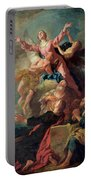 The Assumption Of The Virgin Portable Battery Charger by Jean Francois de Troy