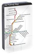 The Atlanta Pubway Map Portable Battery Charger