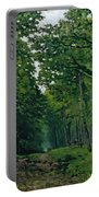 The Avenue Of Chestnut Trees Portable Battery Charger