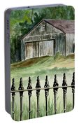 The Barn At Parsonsfield Maine Portable Battery Charger