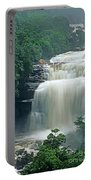 The Base Of Angel Falls In Canaima National Park Venezuela Portable Battery Charger
