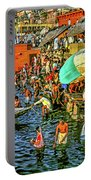 The Bathing Ghats Portable Battery Charger