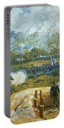 The Battle Of Kenesaw Mountain Portable Battery Charger by American School