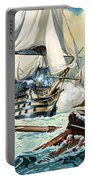 The Battle Of Trafalgar Portable Battery Charger by English School