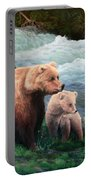 The Bears Of Katmai Portable Battery Charger