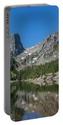The Beautiful The Louch Lake With Reflection And Clear Water Portable Battery Charger
