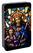 The Beauty Of Stained Glass Portable Battery Charger
