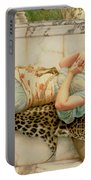 The Betrothed Portable Battery Charger by John William Godward
