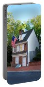 The Betsy Ross House Philadelphia Portable Battery Charger by Bill Cannon