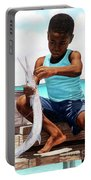 The Big Catch Portable Battery Charger by Nicole Minnis
