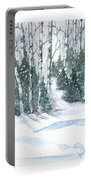 The Birch Trees Portable Battery Charger