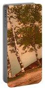 The Birches At Oak Birch Inn, Alton Bay, Lake Winnipesaukee, N. H.  Portable Battery Charger