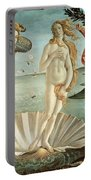 The Birth Of Venus Portable Battery Charger by Sandro Botticelli