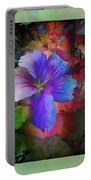 The Blue China Rose  Portable Battery Charger