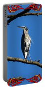 The Blue Heron Claimed He Was Framed Portable Battery Charger