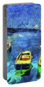 The Bosphorus Istanbul Art Portable Battery Charger