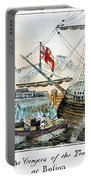 The Boston Tea Party, 1773 Portable Battery Charger