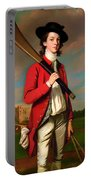 The Boy With A Bat - Walter Hawkesworth Fawkes Portable Battery Charger